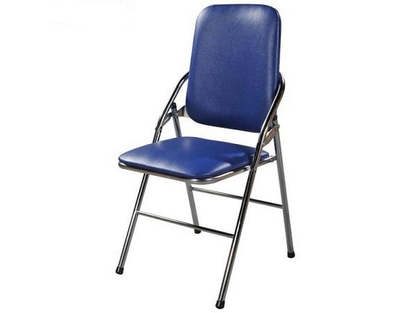 Ghế inox 304 xếp Thái lưng lớn cao cấp