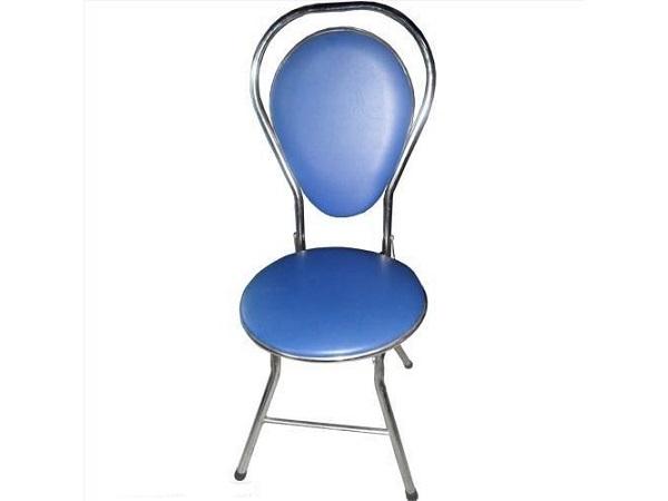 Ghế xếp inox 304 có lưng tựa thấp hình đu đủ giá rẻ